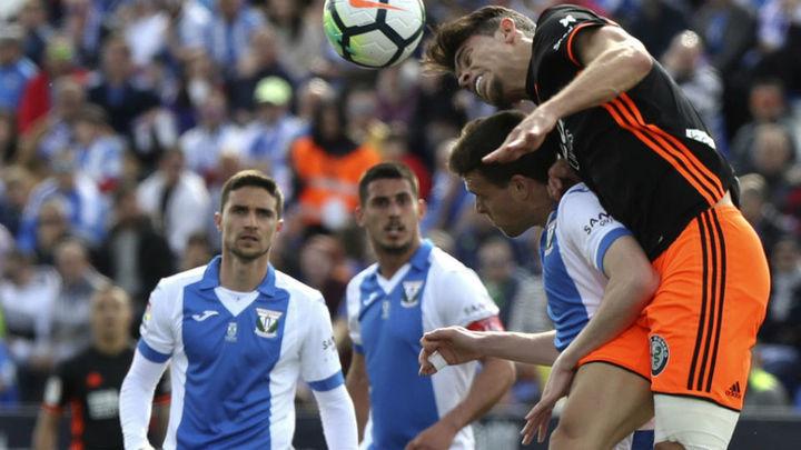 0-1. El Leganés cae ante el Valencia