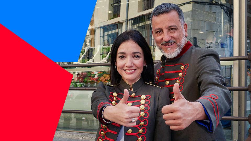 Esto es otra Historia, David Botello y Carmen Sánchez-Risco