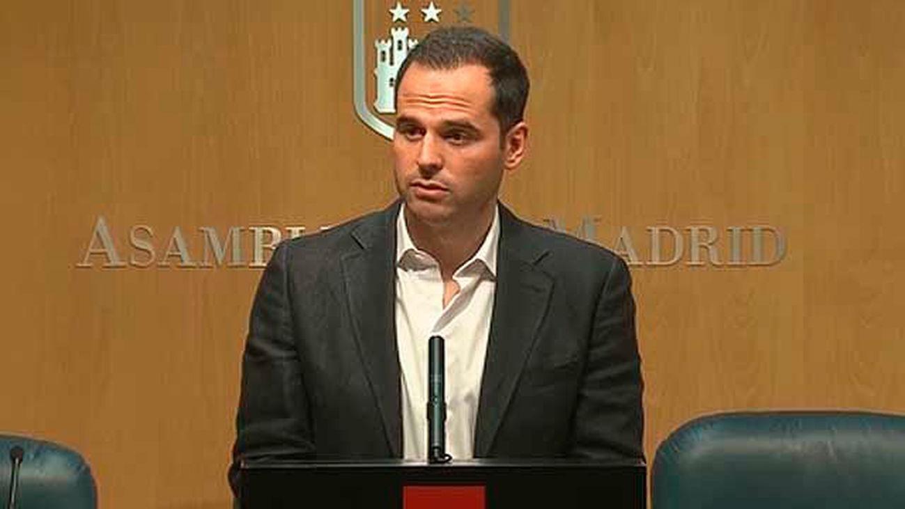 Ignacio Aguado, portavoz de Ciudadanos en la Asamblea