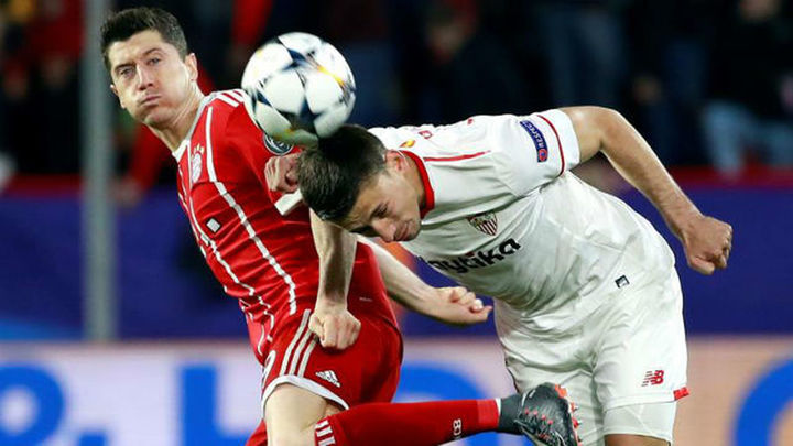 1-2. El Bayern remonta al Sevilla