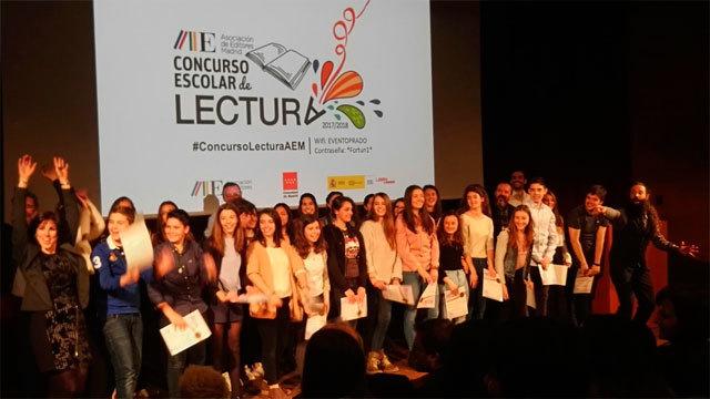 Premiados en el Concurso de Lectura Escolar de la Comunidad de Madrid