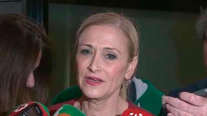 """El PP de Madrid lanza la campaña en Twitter """"Me quedo con Cifuentes"""""""