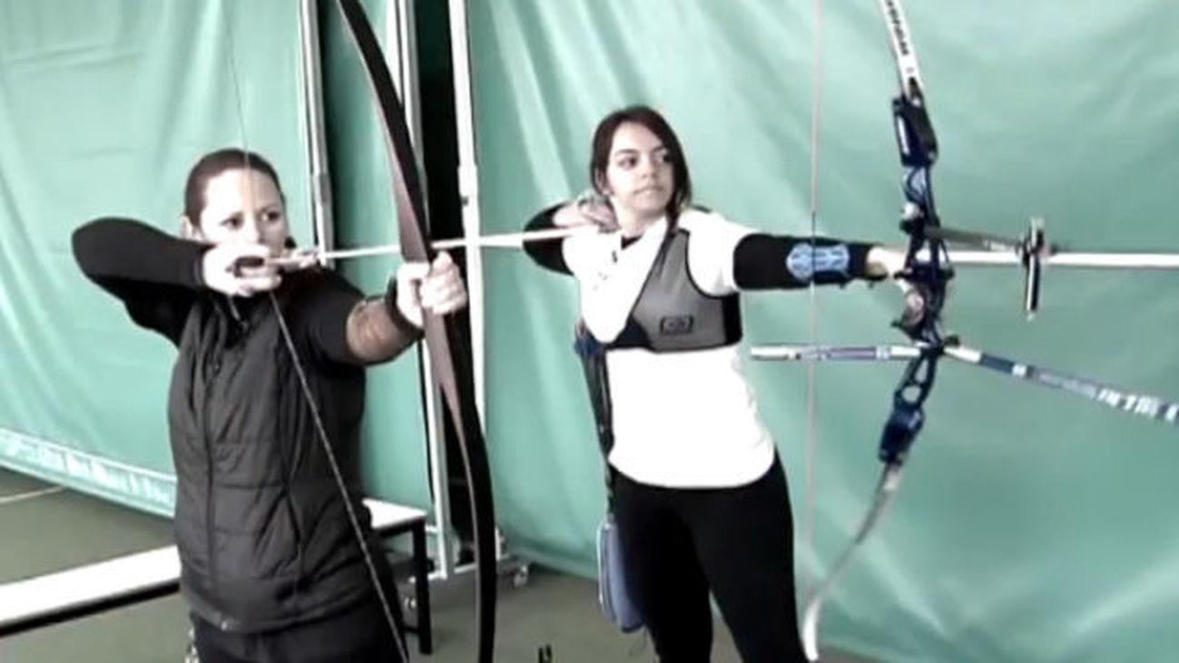 Rosa Martín y Erica Hernán, flechas en familia
