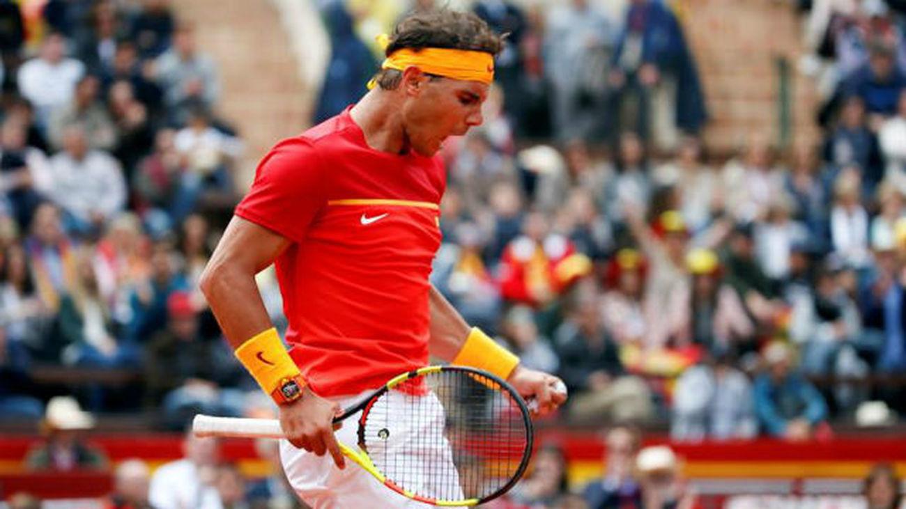 Copa Davis: Nadal gana a Kohlschreiber, Ferrer cae con Zverev (1-1)