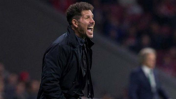 """Simeone: """"Nada está hecho; vivimos el día a día"""""""