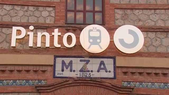 La estación de Cercanías de Pinto