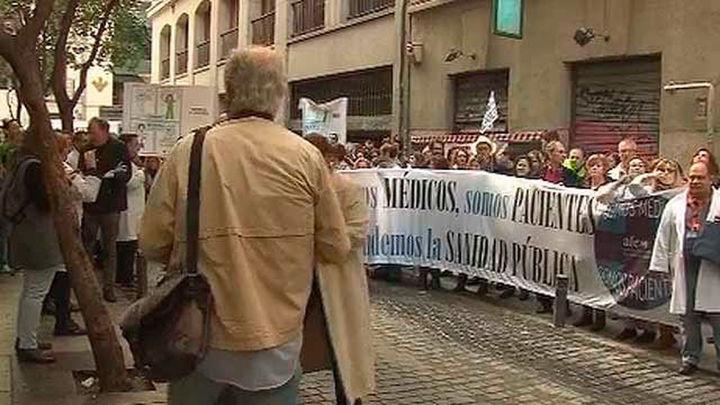 Los médicos madrileños, en huelga durante 24 horas