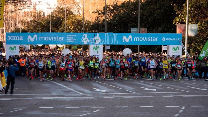 Ezrah Sang y Naomi Jebet conquistan la Medio Maratón de Madrid