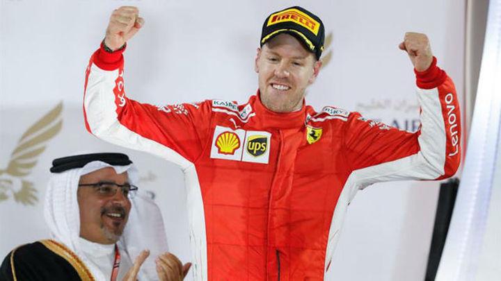 GP Baréin: Victoria de Vettel con Alonso 7º y Sainz 11º