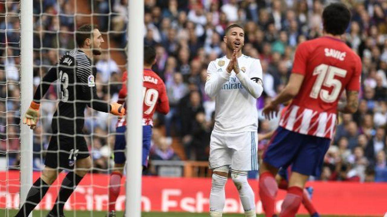 1-1. Oblak frustra al Real Madrid en un derbi repleto de orgullo