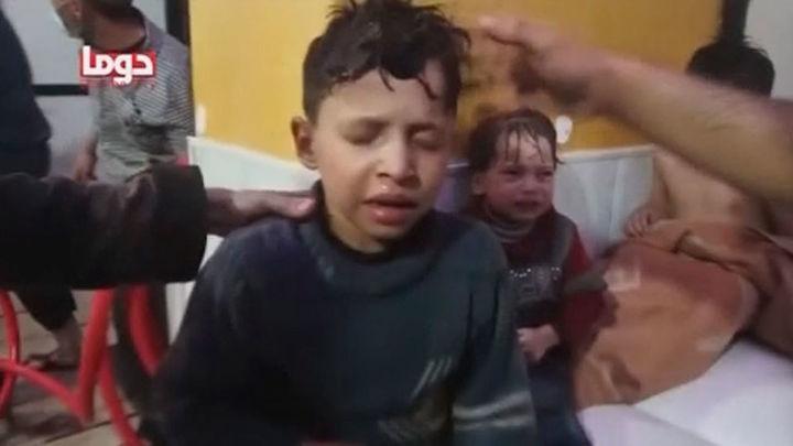 Indignación y condena por el ataque químico en Siria que nadie asume