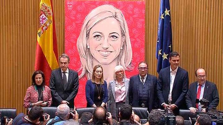 El Congreso rinde homenaje a Carme Chacón y su capacidad de abrir sendas