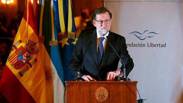 Mariano Rajoy en Buenos Aires