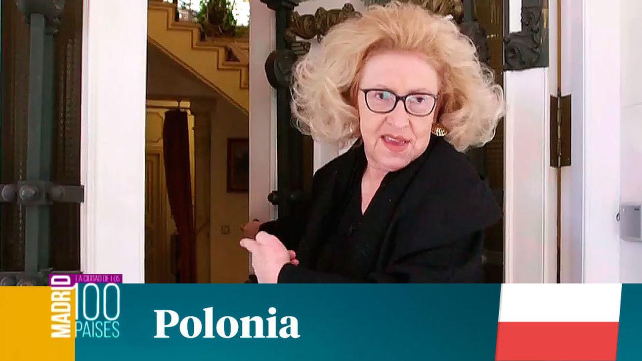 Madrid ciudad de 100 países: Polonia