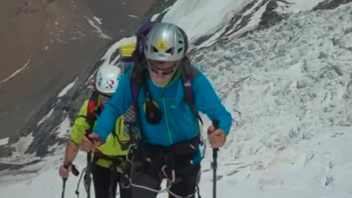 El alpinista madrileño Carlos Soria emprende una expedición al Himalaya