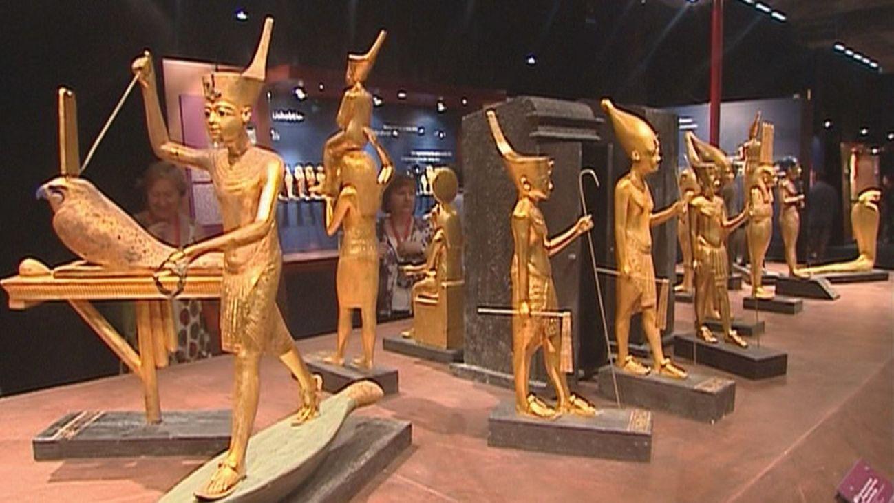 Los secretos de Tutankamon a la vista en una gran exposición en Los Angeles