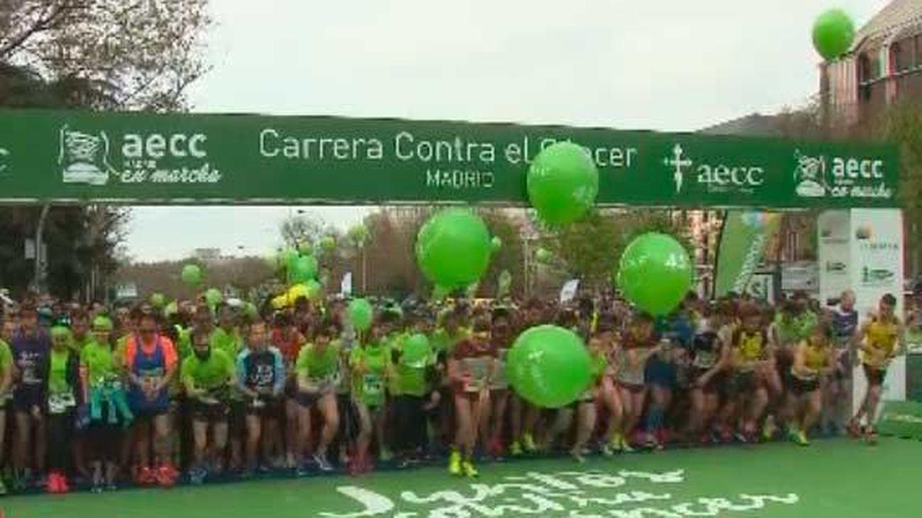 17.000 corredores en la V Carrera 'Madrid en marcha contra el cáncer'