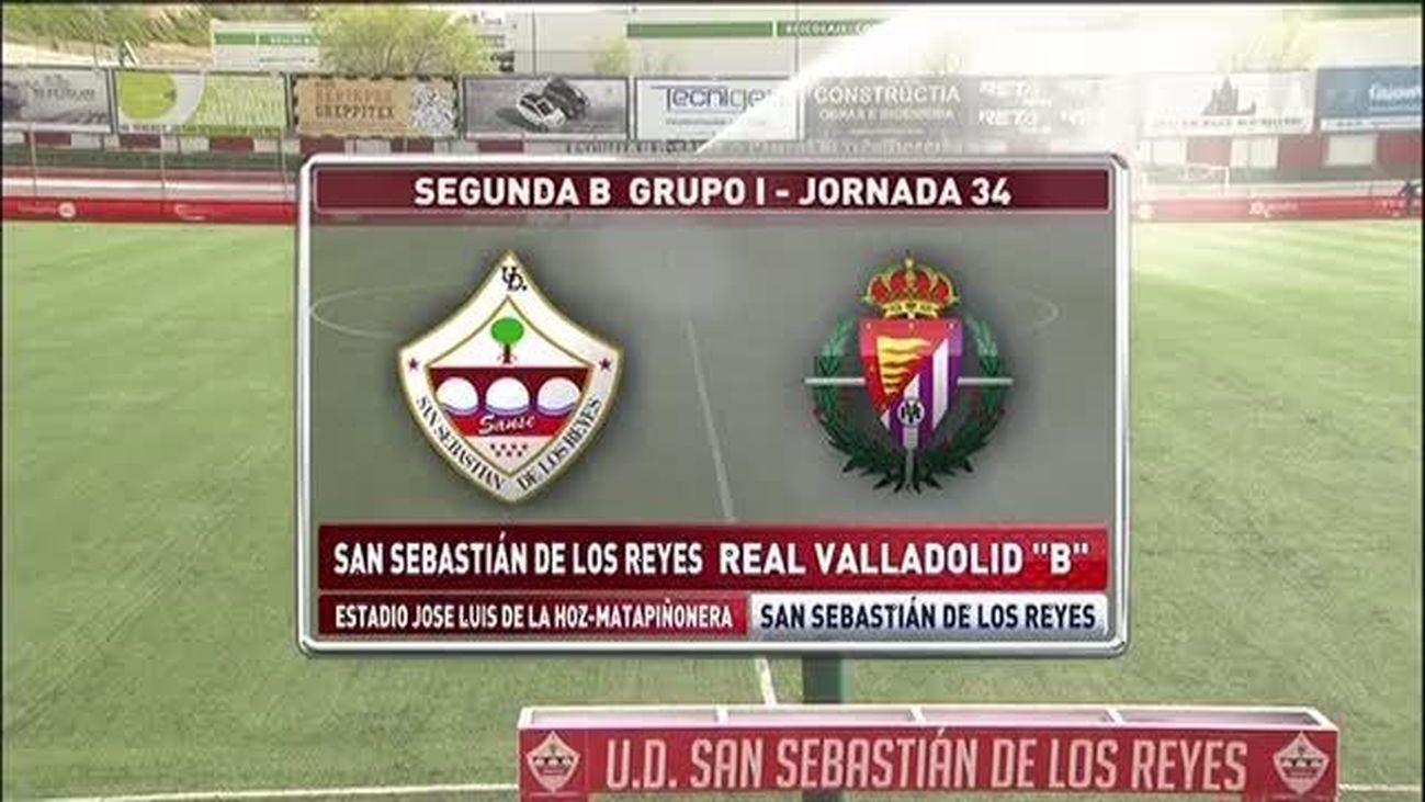 1-1 UD. Sanse - Real Valladolid B