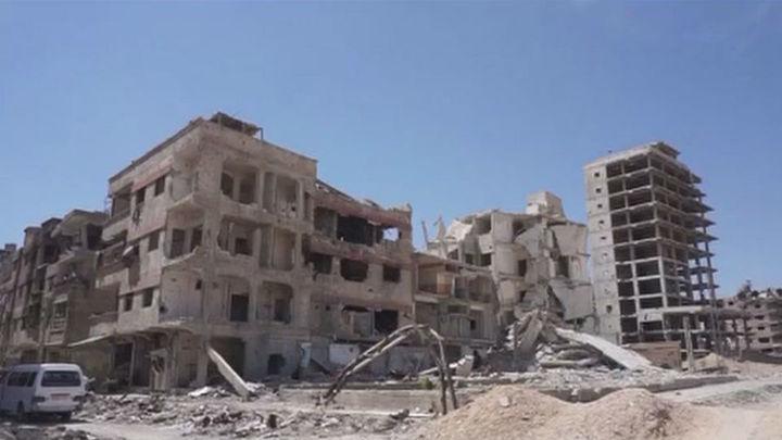 Las autoridades sirias afirman que han interceptado varios misiles de origen desconocido