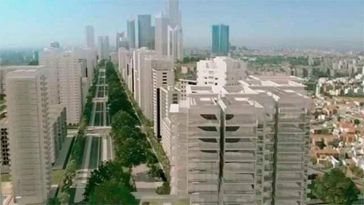 Fomento anuncia el acuerdo para desarrollar el proyecto Madrid Nuevo Norte
