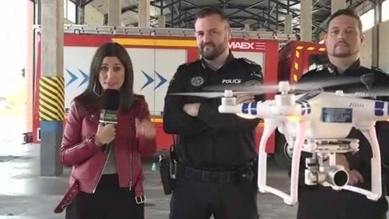 Los drones se unen a la plantilla de la Policia de Fuenlabrada
