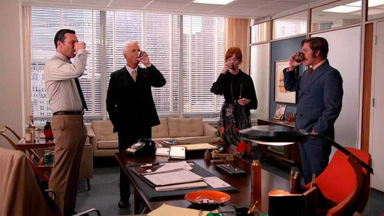 Escena de la popular serie 'Mad Men'