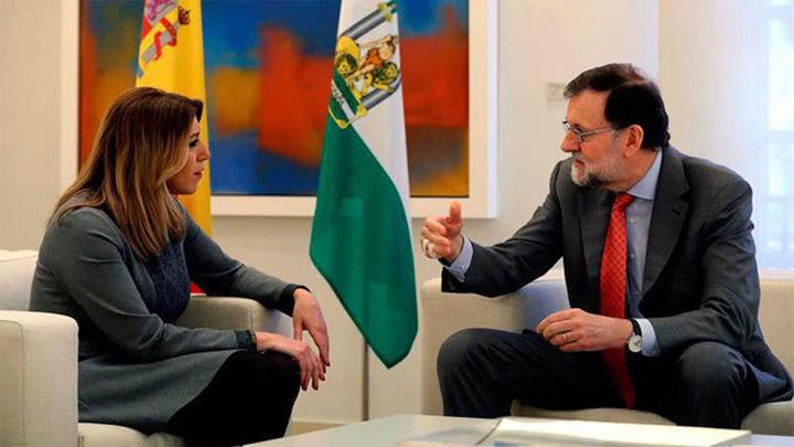 Rajoy promete a Susana Díaz convocar ya el Consejo de Política Fiscal para la financiación