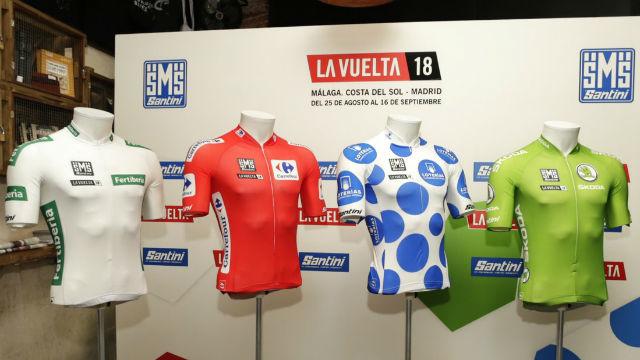 La Vuelta presenta los nuevos diseños de la edición 2018