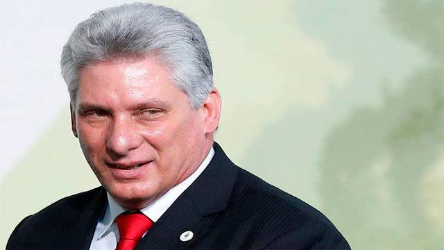 El nuevo presidente de Cuba, Miguel Díaz Canel