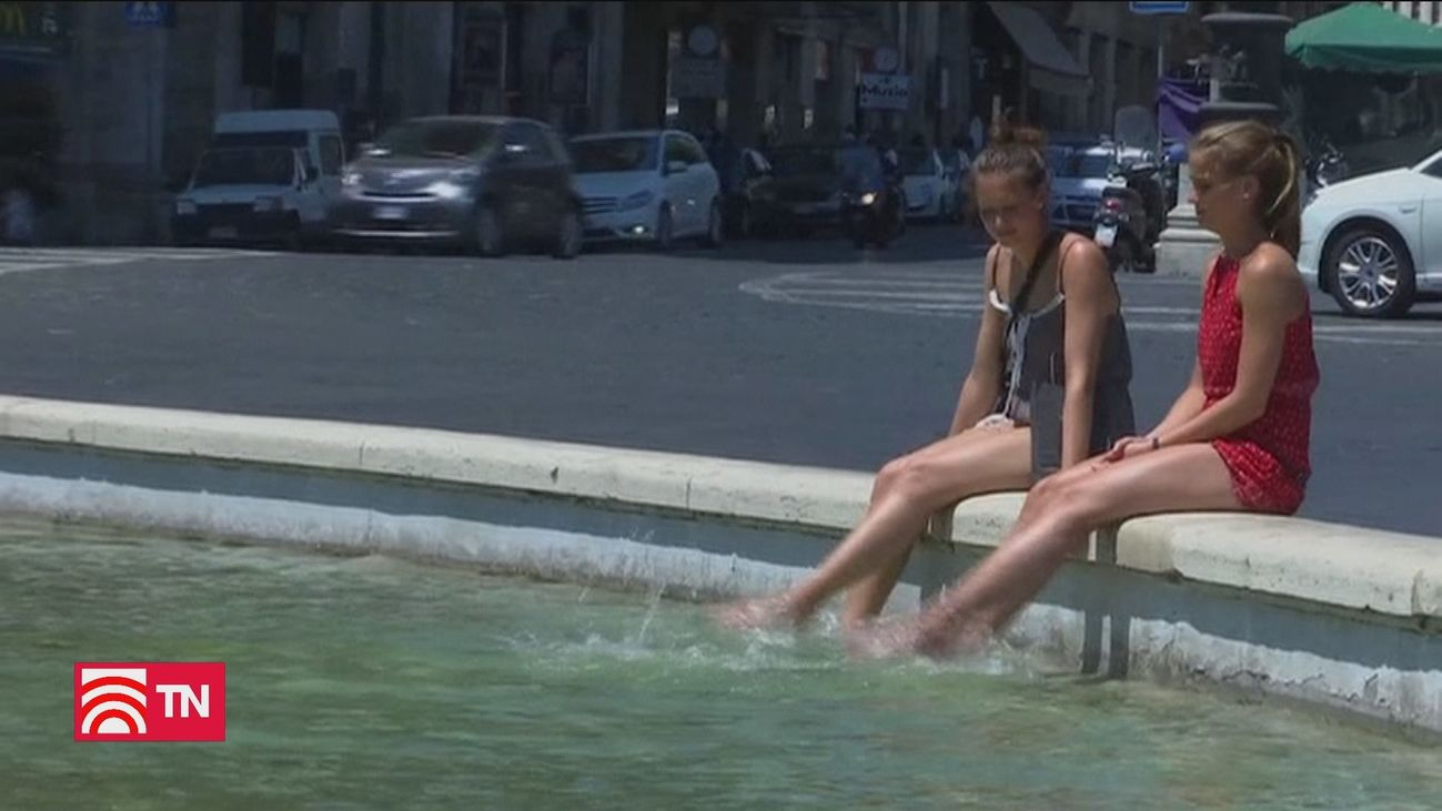 Mucho calor llega a Europa