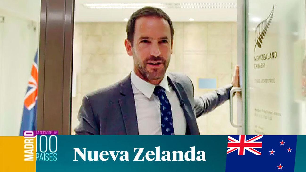 Madrid ciudad de 100 países: Nueva Zelanda