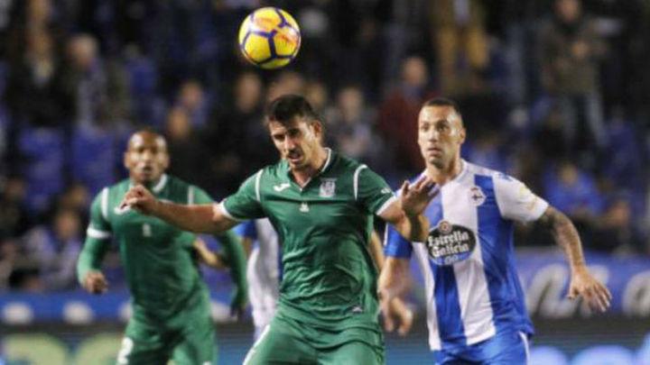 Leganés y Deportivo juegan en Butarque un duelo decisivo