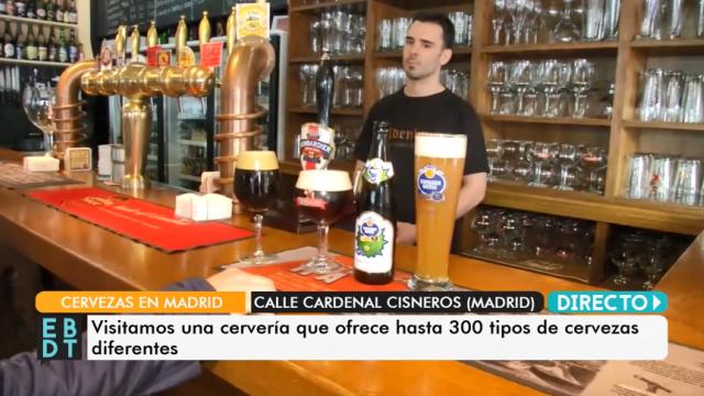¿Sabíais cuál es la calle con más cervecerías de Madrid?