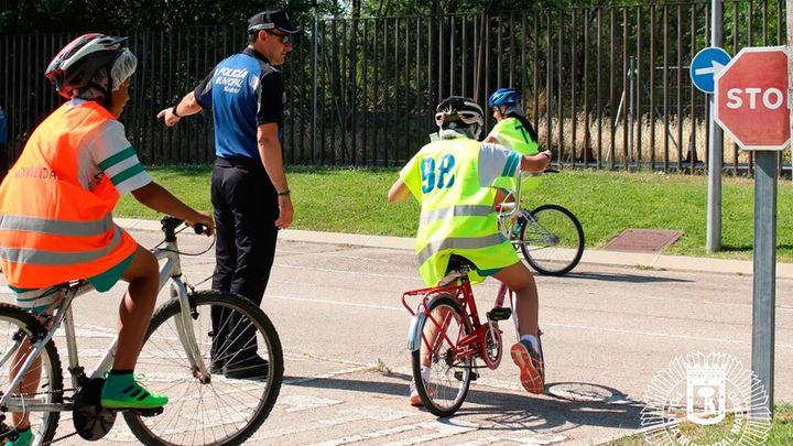 Varios colegios de Madrid organizan actividades de educación vial