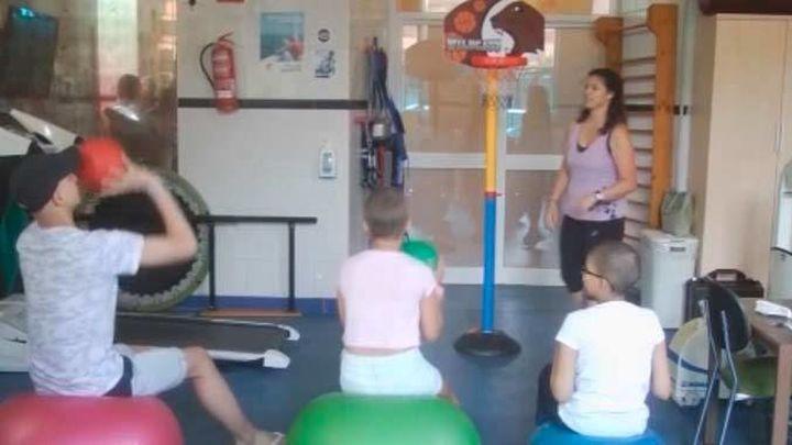 Deporte como terapia contra la leucemia en el Hospital Niño Jesús
