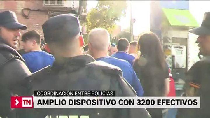 3.200 efectivos, dispositivo de seguridad de la final de Copa