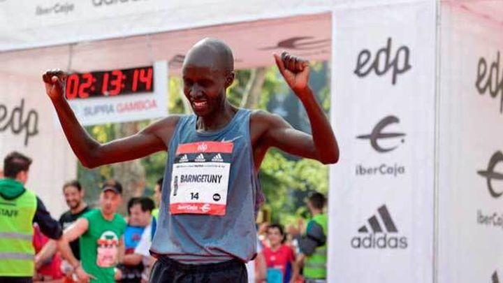 Kenia arrasa en la Maratón de Madrid