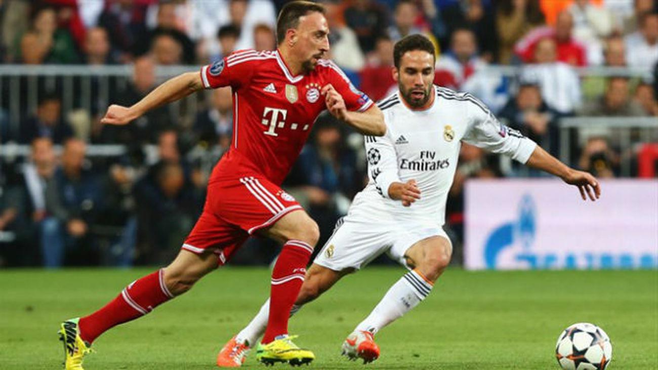 """Carvajal: """"Robben, Lewandowski y Ribéry son los más difíciles de parar"""""""