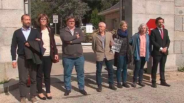 Impiden la entrada en el Valle de los Caídos a los familiares de los sepultados