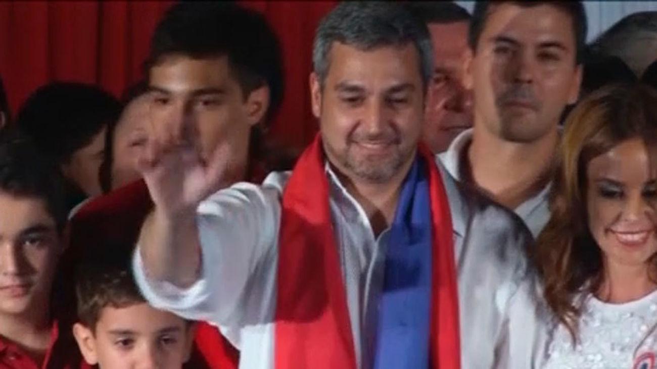 Mario Abdo Benítez gobernará 5 años más Paraguay tras ganar las elecciones