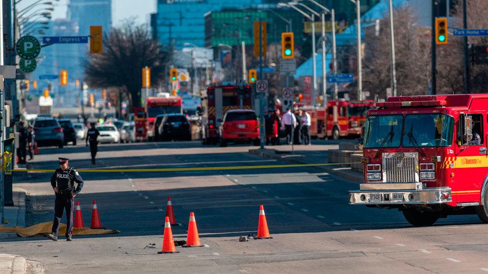 Canadá investiga la conexión terrorista del atropello masivo que causó 10 muertos