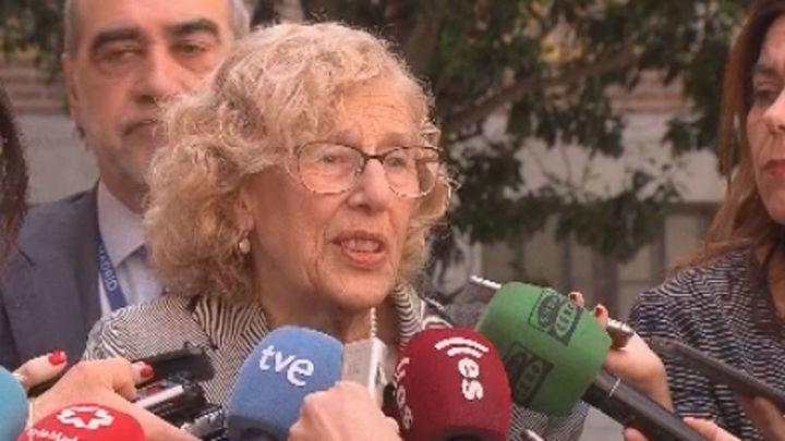 """Carmena """"entiende"""" que Cifuentes haya tenido que dimitir por cuestión de ética"""