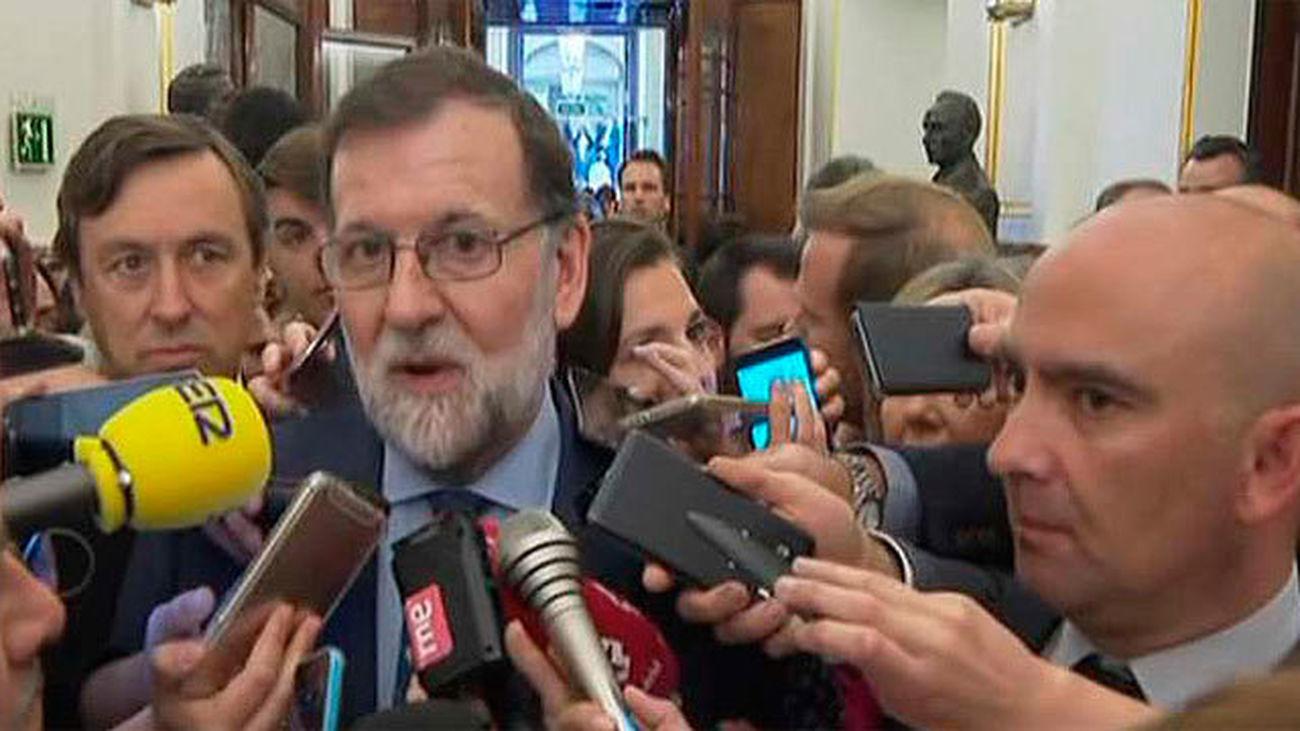 """Rajoy: """"Cristina Cifuentes ha hecho lo que tenía que hacer"""""""