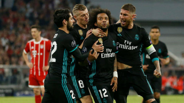 Real Madrid ante el Bayern Munich
