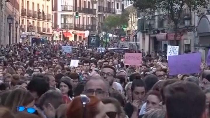 Oleada de protestas en Madrid y 30 ciudades contra el fallo de 'la manada'