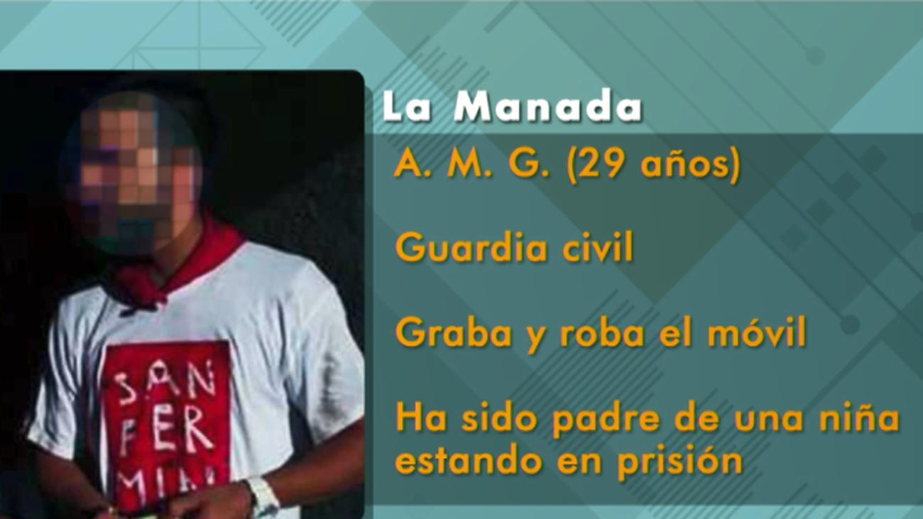 """Los miembros de """"La Manada"""", a análisis"""