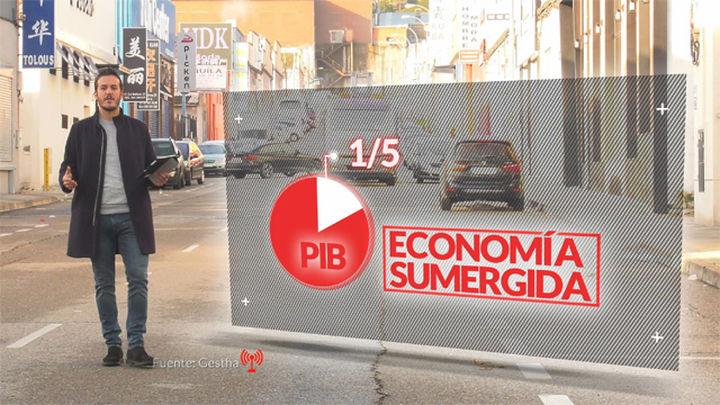 Trabajo en negro: Diego Losada aborda las cifras de la economía sumergida en 'Madrid es Cifra'