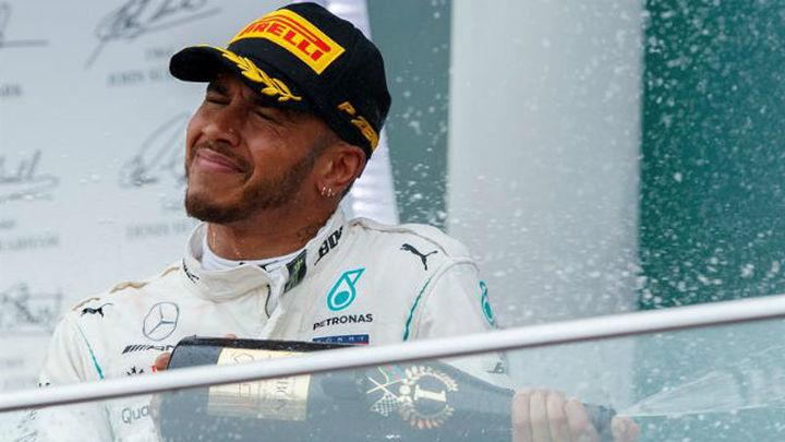 GP Arzebaiyán: Victoria de Hamilton por sorpresa; Sainz 5º