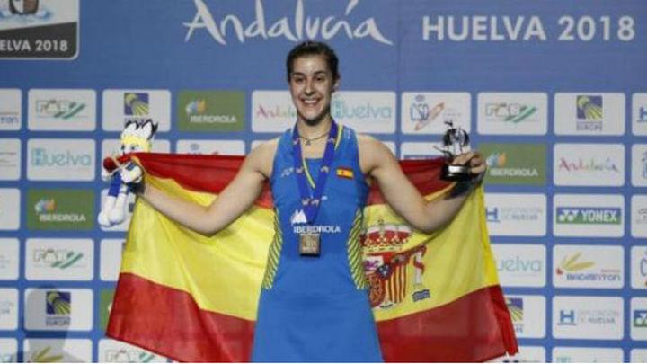 Carolina Marín se hace más leyenda en Huelva