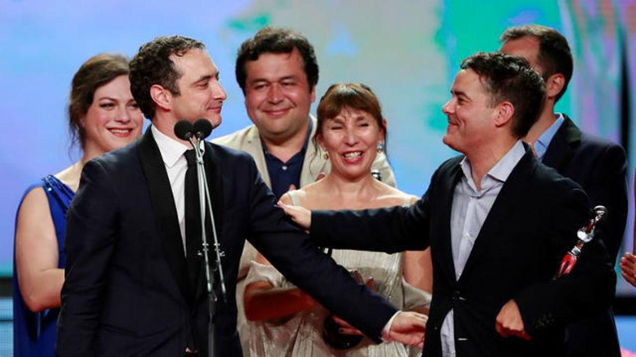 """Equipo de la película ganadora """"Una mujer fantástica"""""""
